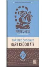 Madecasse 70% z prażonym kokosem