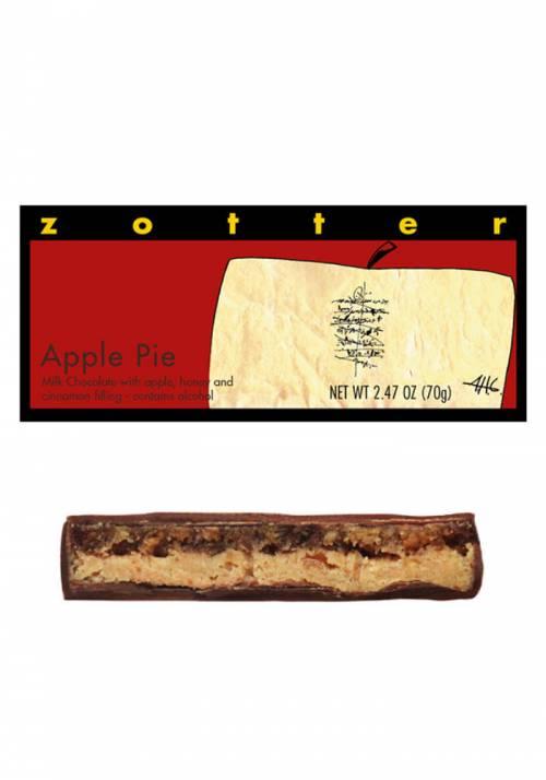 Zotter Apple Pie - Szarlotka - jabłko, cynamon, miód, mleczna czekolada