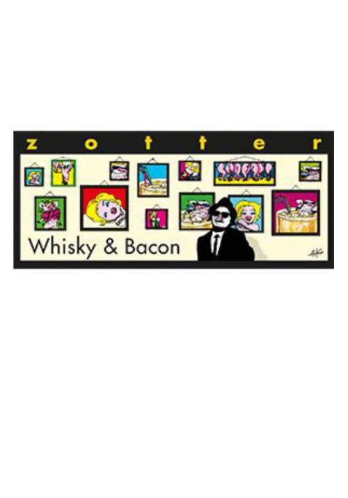 Zotter Whisky & Bacon (whisky, skwarki bekonu)