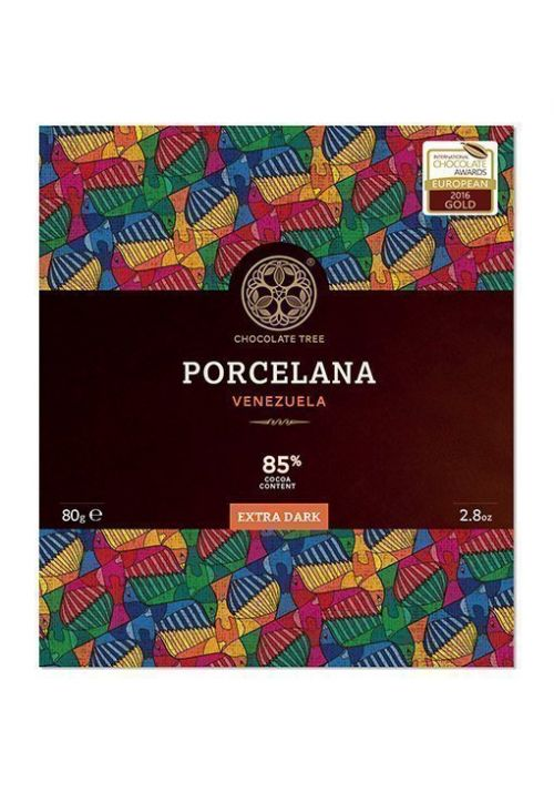 Chocolate Tree Porcelana 85% (duża - 80g)