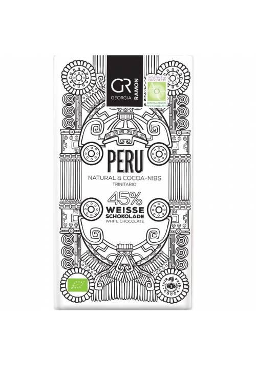 Georgia Ramon Peru 45% biała czekolada z nibsami