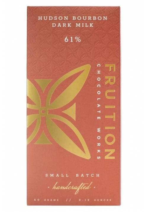 Fruition Hudson Bourbon Dark Milk 61%