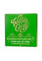 Willie's Cacao 100% Raisin & Hazelnut (rodzynki i orzechy laskowe)