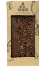 Mleczna czekolada z nibsami kakao - Beskid Chocolate
