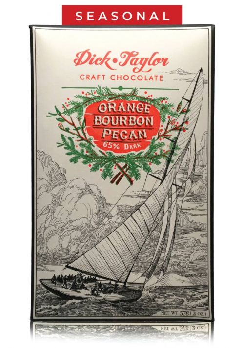 Dick Taylor Orange Bourbon Pecan 65%
