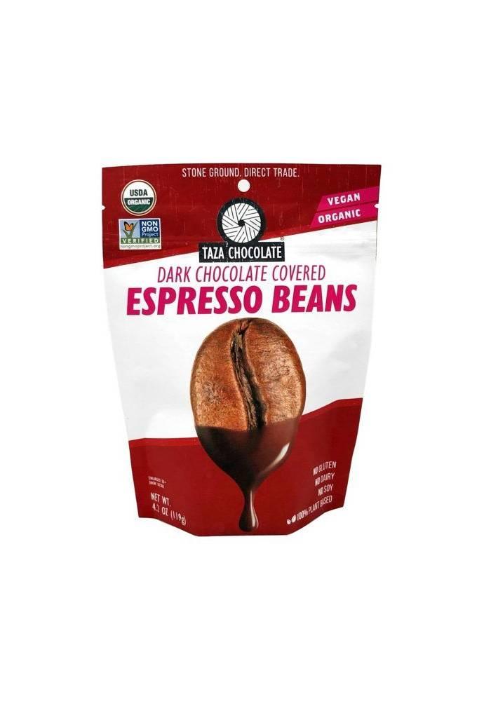 Ziarna kawy espresso w czekoladzie TAZA