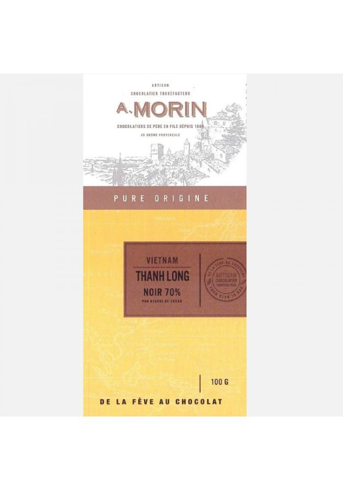 Czekolada Morin Vietnam Thanh Long 70%