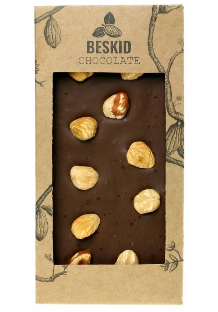 Mleczna czekolada z orzechami laskowymi - Beskid Chocolate