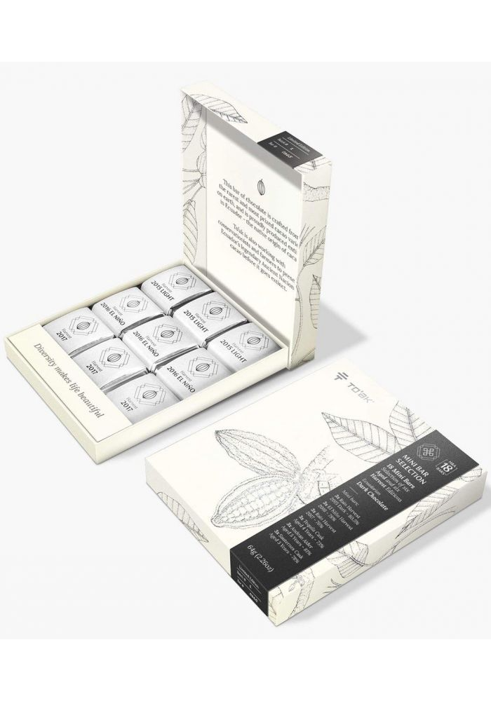 To'ak Chocolate Mini Bar Selection - Harvest & Aged