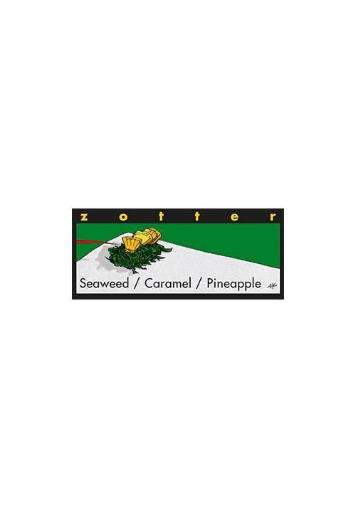 Zotter Seaweed + Caramel + Pineapple (Wodorosty, karmel, ananas)