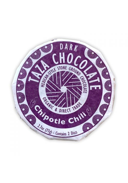 TAZA Chocolate Chipotle Chili 50%