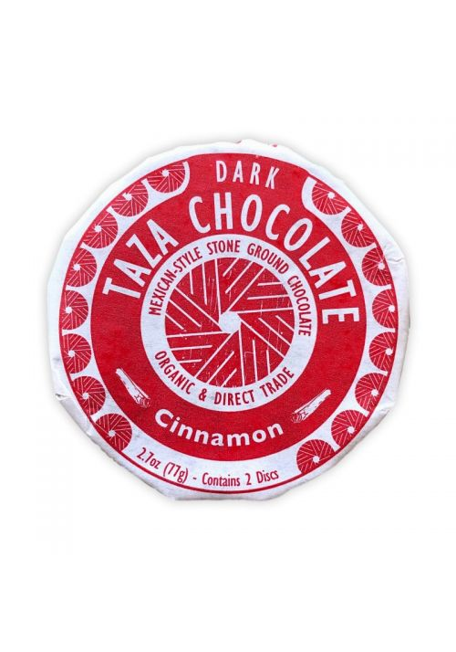 TAZA Chocolate Cinnamon (cynamon) 50%