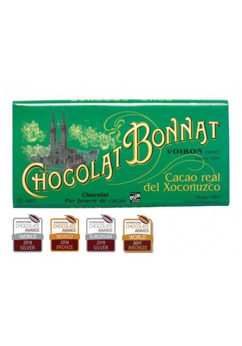 Bonnat Cacao real de Xononuzco Mexique 75% (Meksyk)