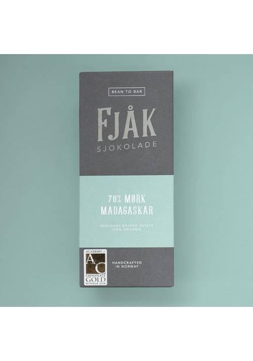 Fjåk Sjokolade Ciemna 70% Madagaskar