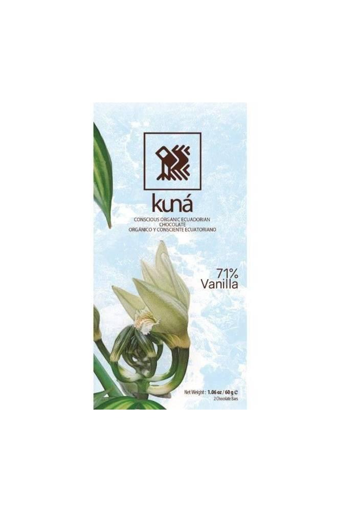 Kuná 71% Vanille (Wanilia) 60g