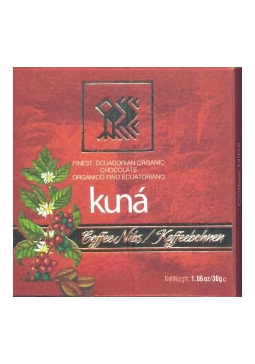 Kuná 71% Coffee Nibs (ziarna kawy) 30g