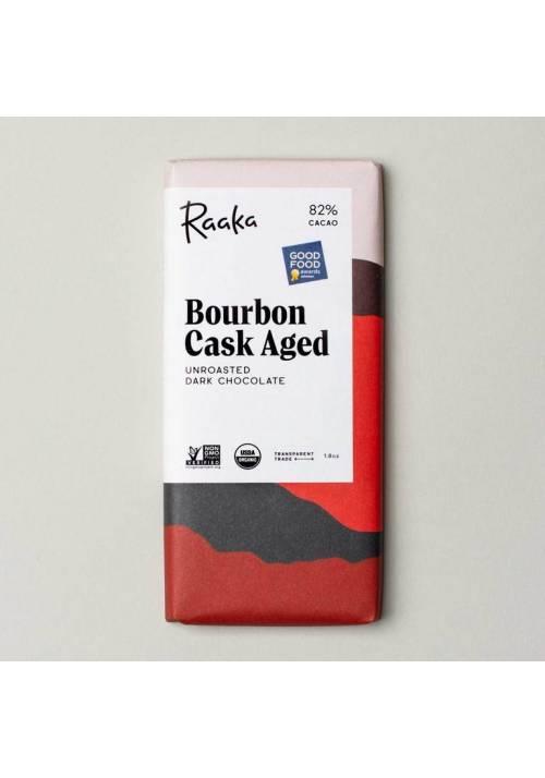 Raaka 82% Bourbon Cask Aged (leżakowana w beczce po bourbonie)