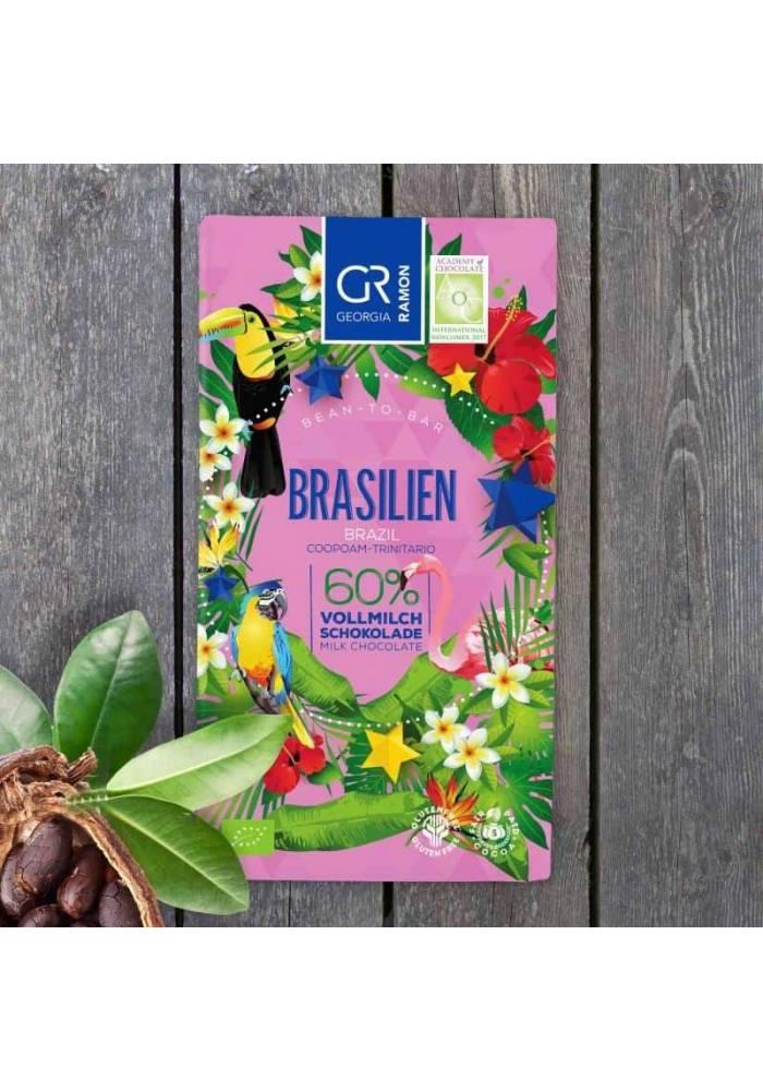 Georgia Ramon Brasilien 60% - darkmilk z ziaren z Brazylii