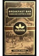 Manoa Breakfast Bar - mleczna kawowa z nibsami