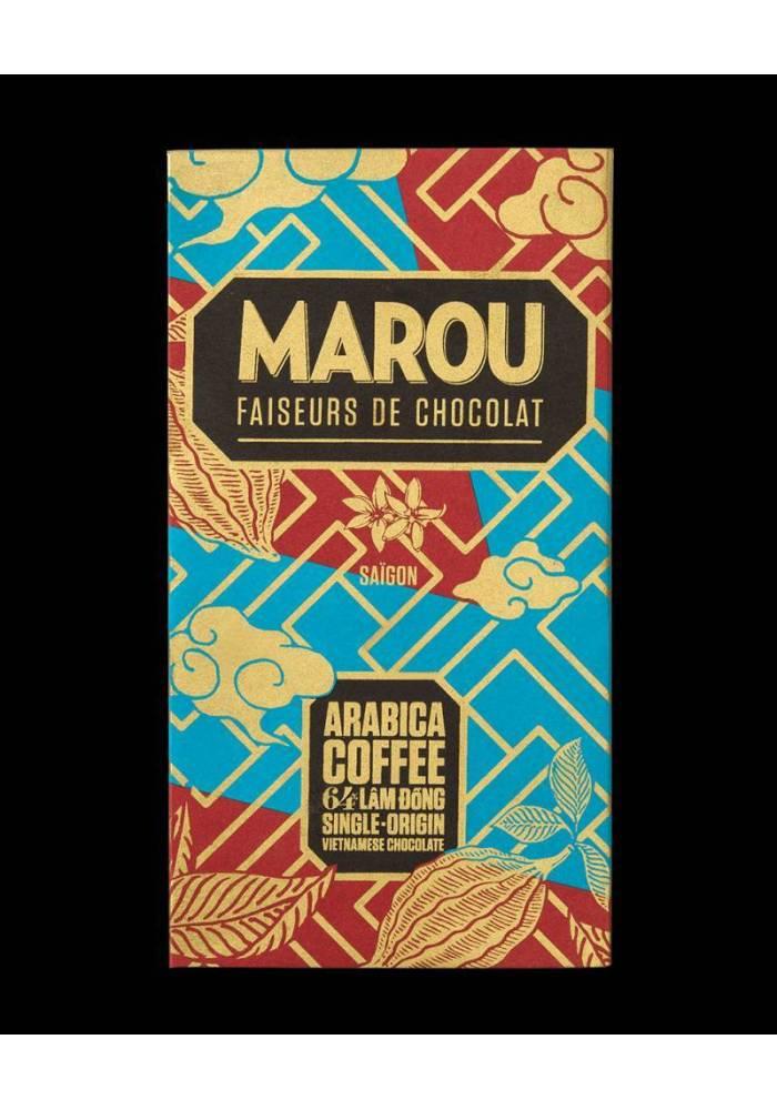 ciemna czekolada Marou z kawą arabica