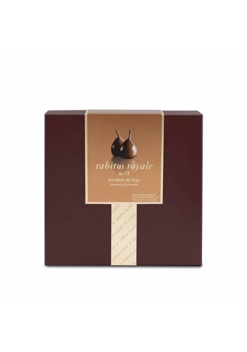 Słony karmel - 8 fig w czekoladzie Rabitos Royale