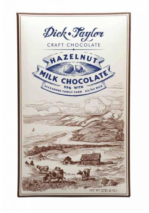 Dick Taylor Hazelnut Milk 55% (mleczna - orzech laskowy)