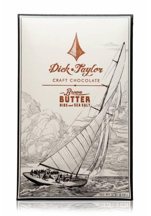 Dick Taylor Brown Butter, Nibs & Sea Salt (masło palone, kawałki ziaren kakao i sól morska)