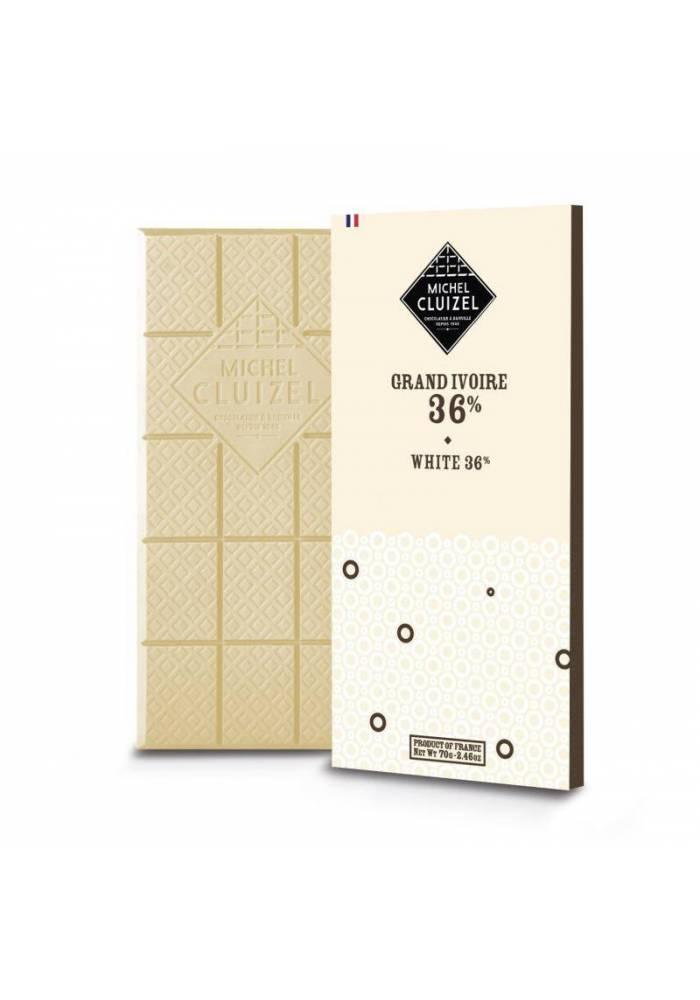 Michel Cluizel Grand Ivoire biała czekolada