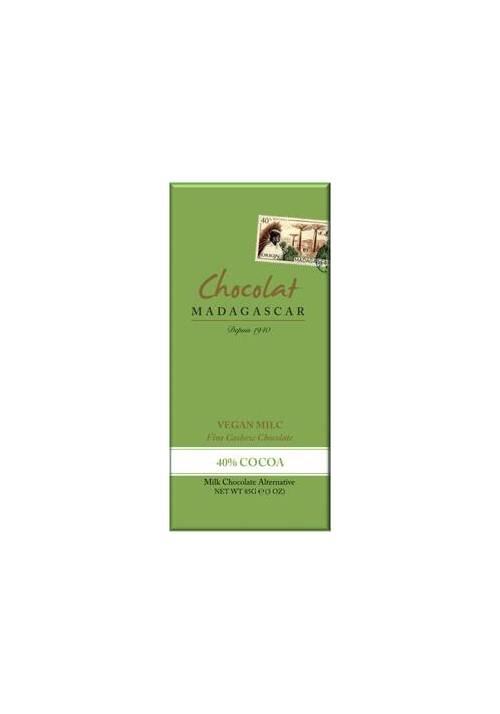 """Chocolat Madagascar Vegan Milc 40% Cashew (""""mleczna"""" z nerkowców)"""