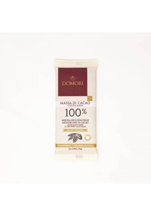 Domori 100% Cocoa Mass 75g
