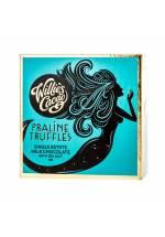Willie's Cacao Mleczne orzechowe trufle z solą morską (małe opakowanie)
