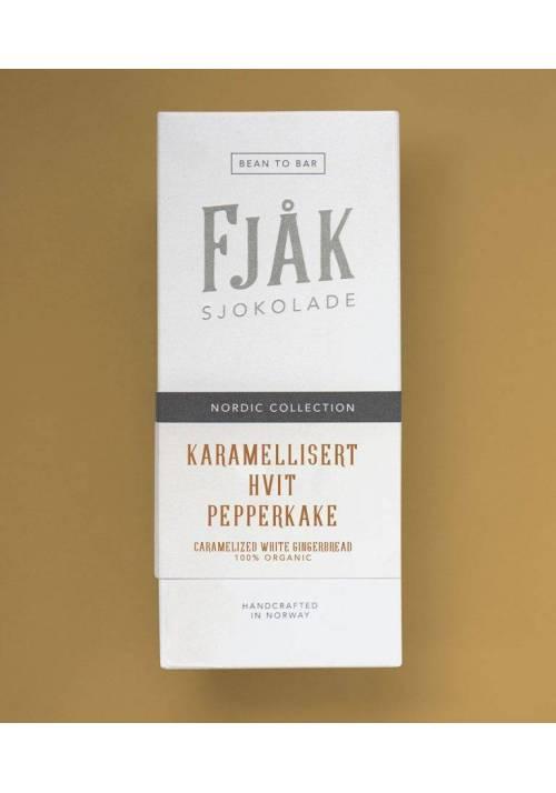 Fjåk Sjokolade karmelizowana biała piernikowa