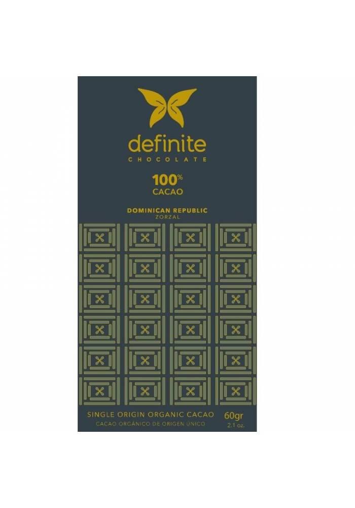 Definite czekolada 100% z Dominikany