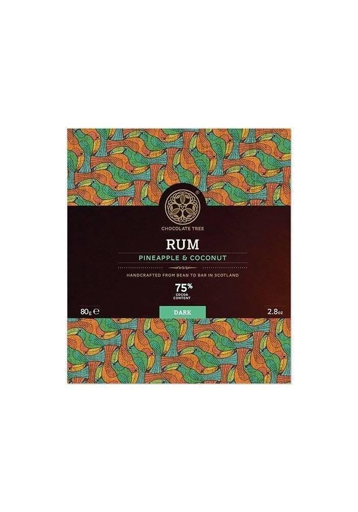 Chocolate Tree Rum Pineapple Coconut 70% (rum, ananas, kokos)