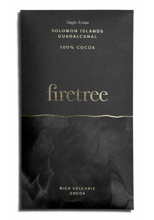 Firetree Chocolate 100% Guadalcanal - Wyspy Salomona