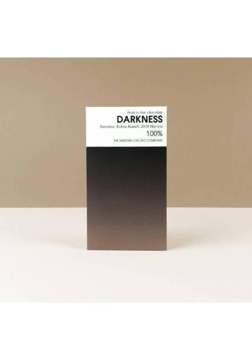 The Swedish Cacao Company Darkness 100% (Tanzania)
