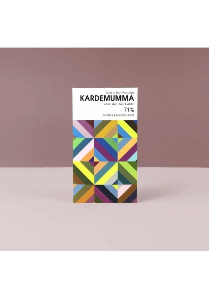 The Swedish Cacao Company Cardamom - ciemna czekolada z kardamonem