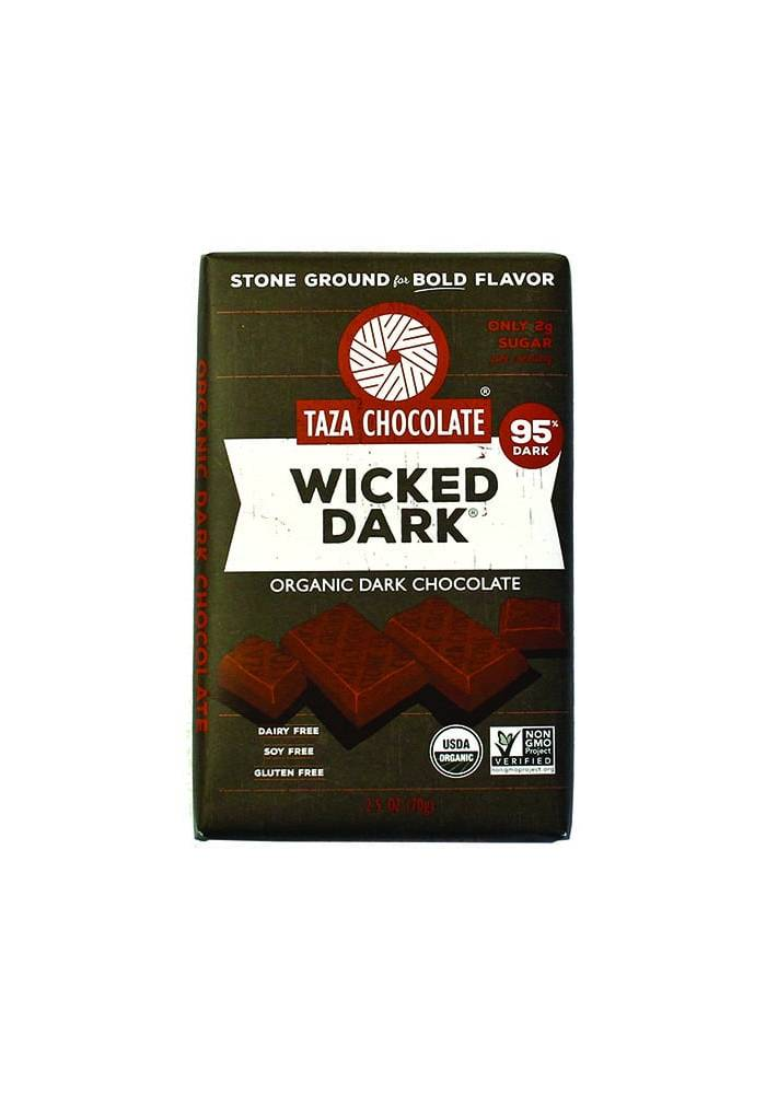 TAZA Chocolate 95% Wicked Dark