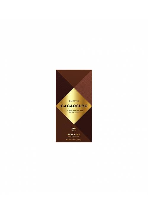 Cacaosuyo Rupa Rupa 100% (mini - 25g)
