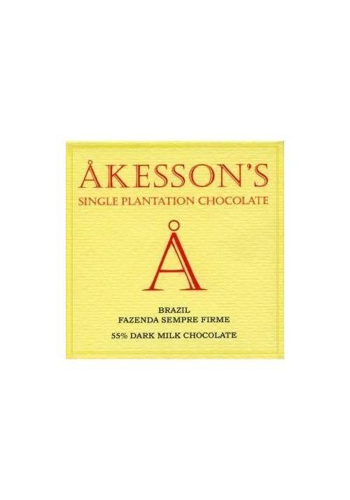 Akesson's Bali 45% mleczna z fleur de sel i cukrem kokosowym