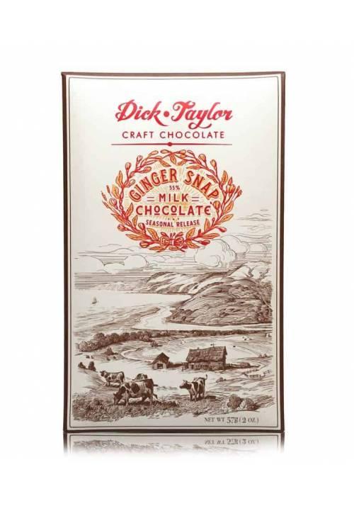 Dick Taylor Gingersnap Milk 55% (mleczna z ciasteczkiem imbirowym)