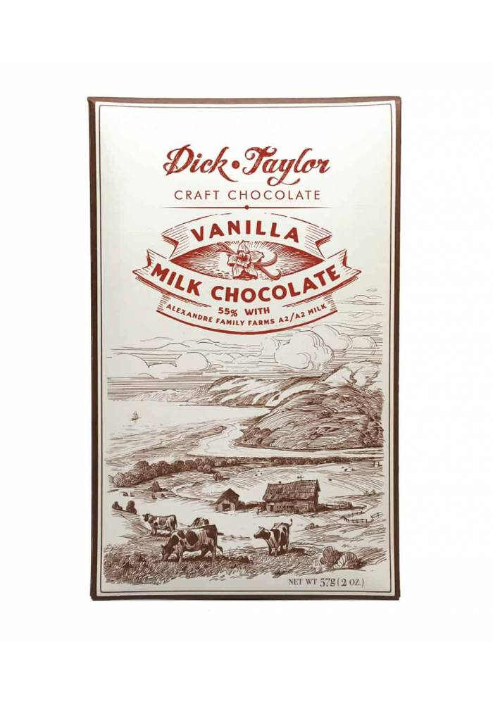 Dick Taylor Vanilla Milk 55% mleczna czekolada z wanilią z Madagaskaru