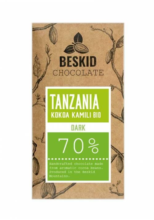 Beskid Tanzania Kokoa Kamili 70% BIO