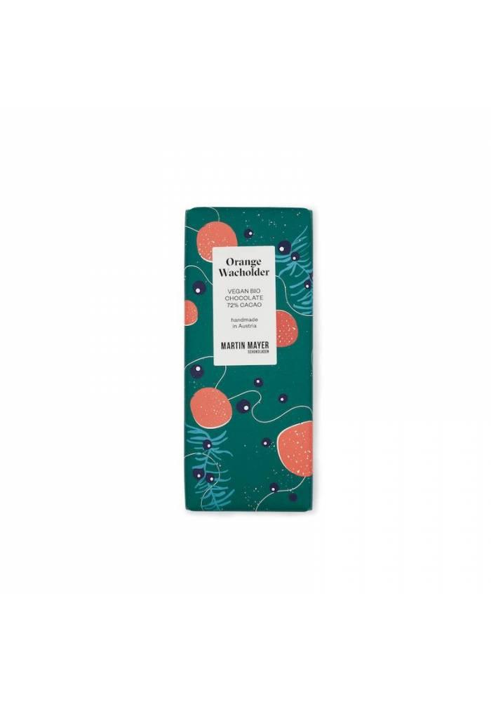 Martin Mayer czekolada 72% z pomarańczą i jałowcem