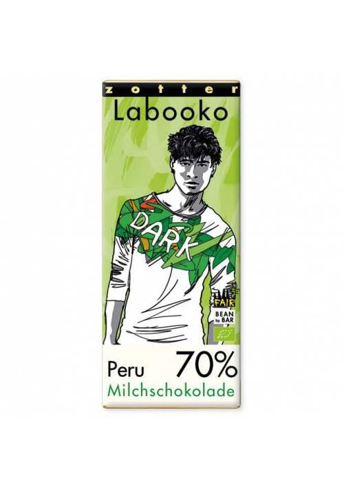 Zotter Labooko Peru 70% Milk