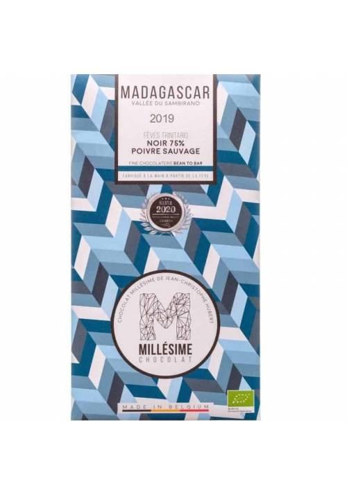 Millésime Madagaskar 75% BIO z dzikim pieprzem