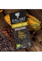 Pacari RAW 101% (z nibsami - kawałkami kakao)