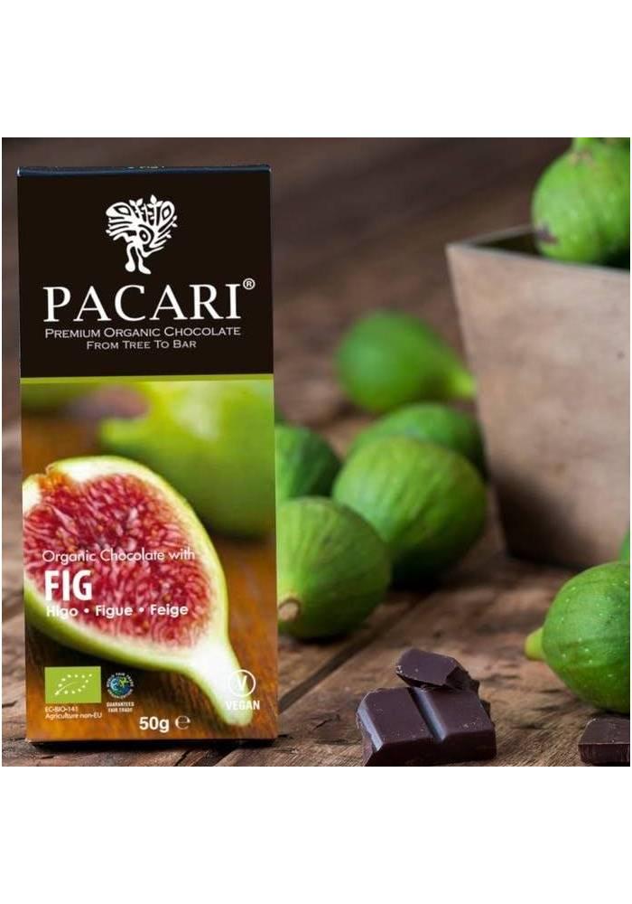 Pacari 60% czekolada z suszonymi figami