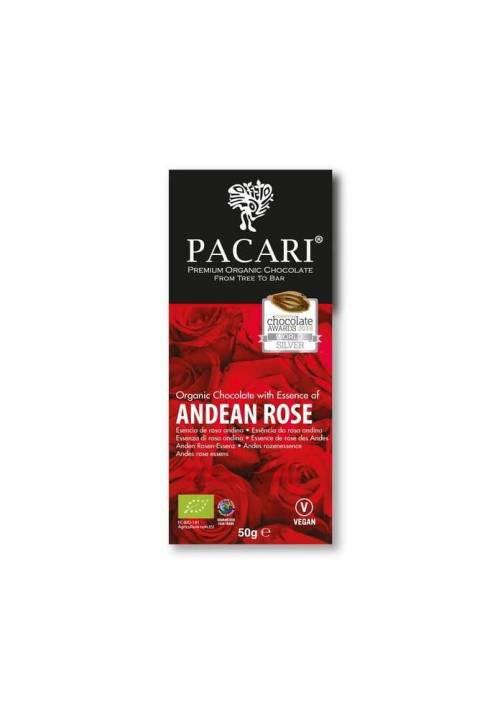 Pacari 60% ciemna z andyjską różą