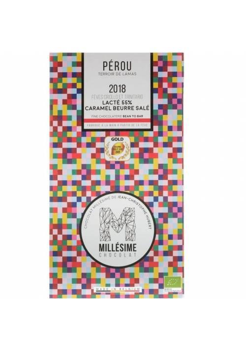 Millésime Peru 55% BIO + słony maślany karmel